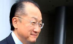 President Jim Yong Kim: one third of the population is still in poverty