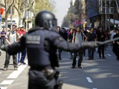 Incidents were particularly serious in Madrid and other Spanish cities