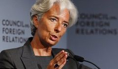 "Last September Lagarde warned Argentina about a ""red card"" (expulsion) because of the quality of its inflation and growth stats"