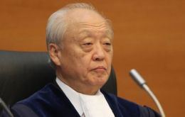 Judge Shunji Yanai president of the Law of the Sea tribunal