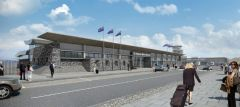 A new design for St Helena's proposed airport terminal has been unanimously approved by executive councillors at a special meeting (31 July 2012).