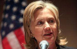 """Our global leadership depends on our economic strength"" said Hillary Clinton"