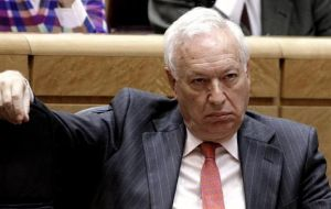 The Foreign Office denied any 'bilateral talks' as stated by Minister Garcia-Margallo