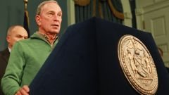 Mayor Bloomberg said 30% of gas stations remained closed because of the damages caused by hurricane Sandy.