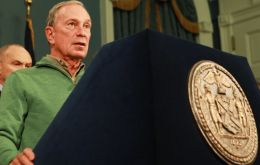 Mayor Bloomberg said 30% of gas stations remained closed because of the damages caused by hurricane Sandy. <br />