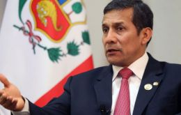 Peruvian president Ollanta Humala, close friend of Brazil but not an ally