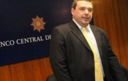 "Central bank president Mario Bergara: ""inflation is the priority"""