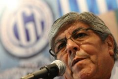 CGT leader Hugo Moyano anticipates a very strong, effective strike