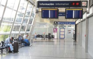 Aeroparque airport (Photo: Clarin)