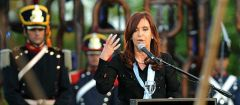 "For the Argentine president ""this was not a strike, it was an intimidation and a threat"" (Photo Telam)"