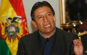 Foreign minister Choquehuanca said President Evo Morales will be attending the summit and give a reply
