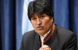 President Evo Morales will be signing the first accords in Brasilia