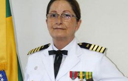 Dalva Maria Carvalho Mendes joined in 1981 when the Brazilian Navy was open to women