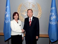 Ambassador Perceval will be sitting at the UN Security Council starting January
