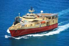 PGS M/V Ramform Sterling expected in the Falklands