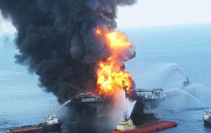 The Deepwater Horizon accident, one of the worst oil spills in history
