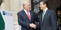 Gurria has asked Mexican president elect Peña Nieto to implement much needed reforms