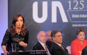 The president pledged Argentina will continue to pay its financial obligations (Photo: DyN)