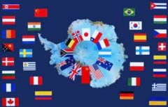 Antarctic Treaty flags of nations