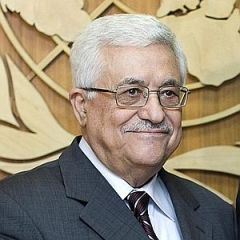 """Symbolic but a last chance to save the two-state solution"" said Palestinian Authority president Mahmoud Abbas"