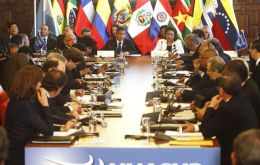 President Humala will chair the meeting