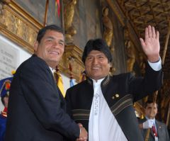 Evo Morales and Rafael Correa are willing to join, but….