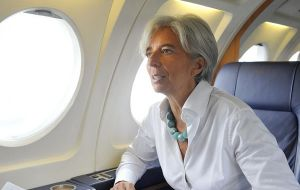 Christine Lagarde will be visiting Colombia and Chile in the second week of December