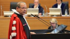 ''A flagrant lack of any maritime delimitation'' between the two countries alleged the Peruvian delegate at the Court in The Hague
