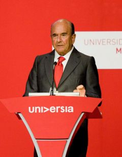 Botin proud of the Santander Universidades program