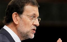 President Rajoy trying to be optimistic