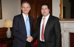 Minister Lidington and CM Picardo held discussions in London