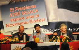 Mujica told Uruguayan unions that the last stage of capitalism is not imperialism but rather consumerism