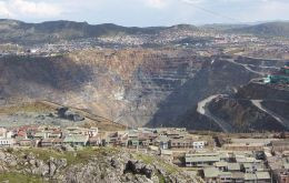 High levels of lead in the Cerro de Pasco soil, a historic mining town in the Andes