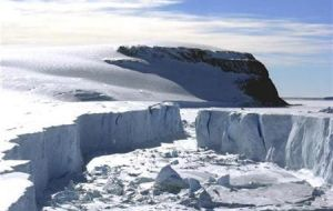 Professor Shepherd of Leeds University says East Antarctica has acquired more mass because of increased snowfall