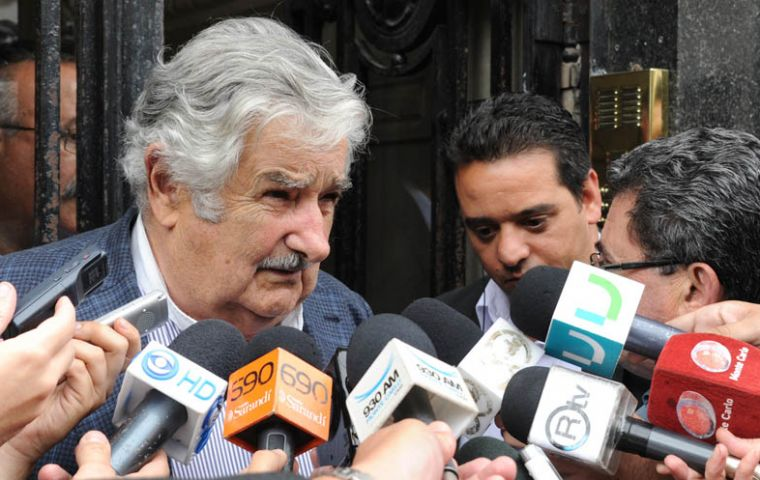Mujica admits it is not an easy challenge (Photo: Presidencia)