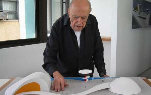 The great artist passed away at the age of 104. Until he fell sick a month ago he was working on a new project
