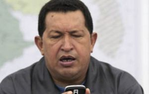 """God willing"", Chavez promised he would be at the December summit, the first with Venezuela as full member"