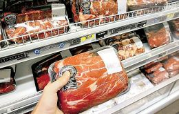 Compared to November 2011 meat prices are 3.5% lower says the FAO report