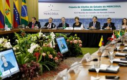 Whatever the result the essence of the Malvinas question remains, said Mercosur leaders