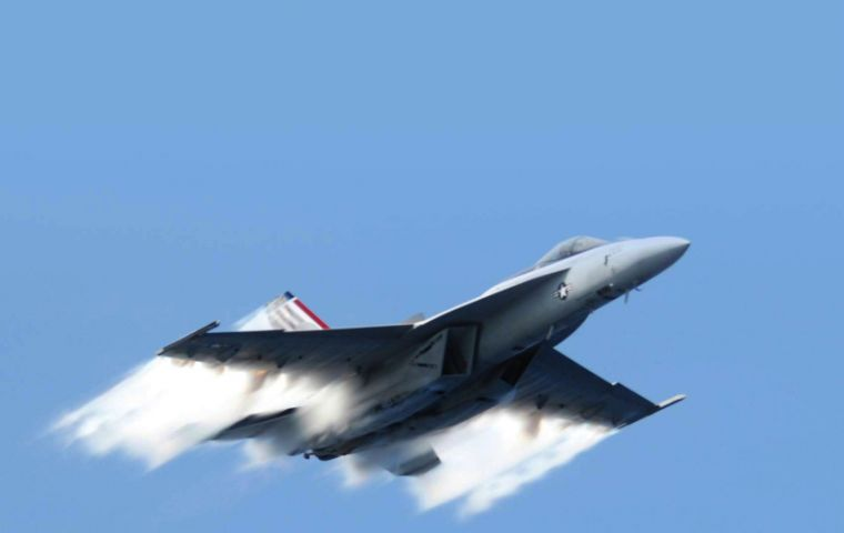 The Super Hornet has combat experience and is far cheaper to run than the French Rafale