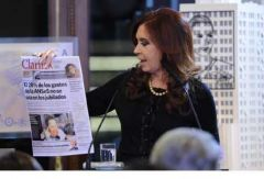 Breaking up the Clarin media group, Cristina's obsession