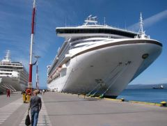 The Ushuaia terminal is the main cruise hub of the extreme south…so far