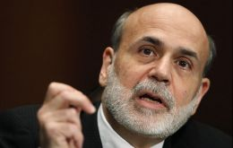 "Bernanke said rates will remain exceptionally low ""until at least through mid-2015"""