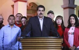 A grave faced Maduro made the announcement to the Venezuelan people