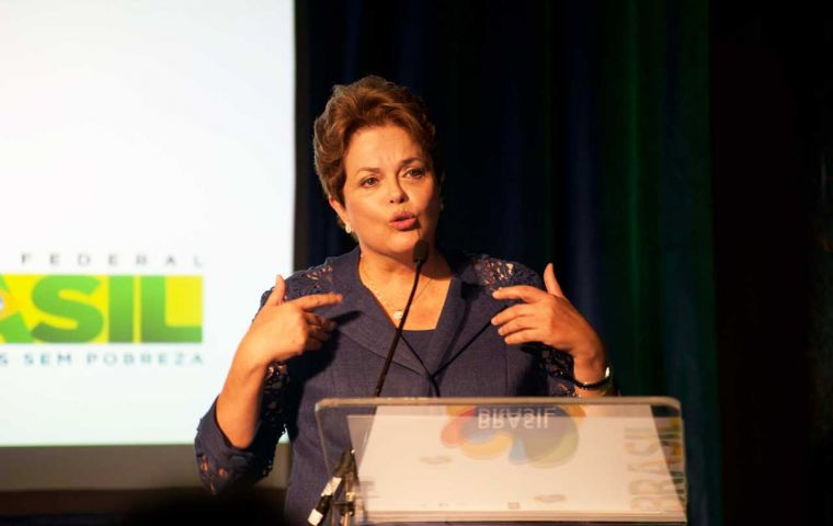 """We have the funds"", said President Rousseff"
