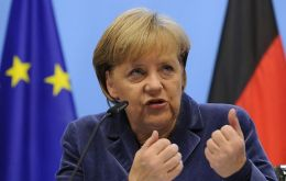 """We succeeded in securing Germany's key demands"" said Chancellor Merkel"