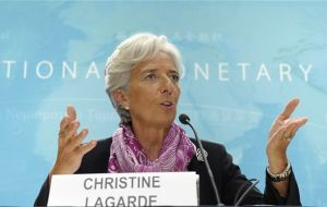 Ms Lagarde is scheduled to chair a conference in Viña del Mar with the region's Finance ministers and central bank governors