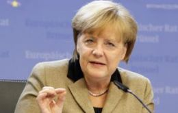 The Germany chancellor once again draws the line (Photo: Reuters)