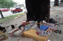 The NGO gives support to over 2.000 homeless