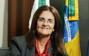 CEO Maria das Gracas Foster said Petrobras will concentrate in developing ultra-deepwater fields off Brazil